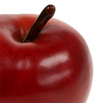 Rojo manzana decorativo mate 8cm 1p