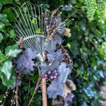Guirnalda decorativa hojas de vid y uvas guirnalda de otoño 180cm