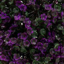 Bola decorativa violeta de flores Ø18cm 1pc