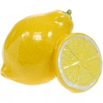 Deco limón cerámica decoración de verano decoración de mesa 11cm