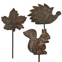 Tapón de flores 5cm - 6cm Motivos de otoño 12pcs