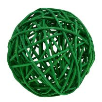 Bolas decorativas tipo. Verde 7cm 18pcs