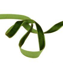 Cinta decorativa Terciopelo verde oscuro 10mm 20m