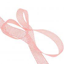 Cinta de regalo para la decoración encaje 21mm 20m rosa