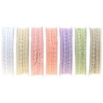Cinta de regalo para la decoración Crochet encaje 12mm 20m