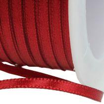 Cinta de regalo cinta decorativa 3mm x 50m Burdeos