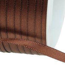 Cinta de regalo marrón 6mm x 50m