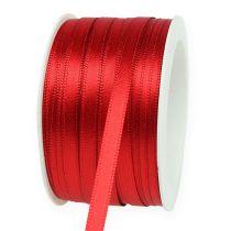 Cinta de regalo y decoración 6mm x 50m rojo claro