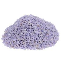 Granulado decorativo lila 2mm - 3mm 2kg