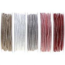 Correa de cuero Cable de cinta con remaches 3mm 15m