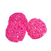 Bola para decoracion Rosa Ø7cm 18pcs