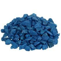 Piedras decorativas 9mm - 13mm azul oscuro 2kg