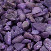 Piedras decorativas berenjena 9mm - 13mm 2kg