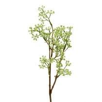 Deco rama verde L43cm 4pcs