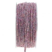 Hilo de mecha Glamour Purple con cable 33m