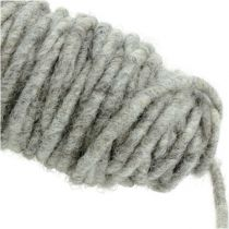 Hilo de mecha 55m gris