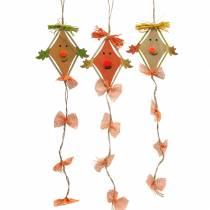 Dragón de decoración de otoño para colgar 10,5cm x 11cm 6pcs