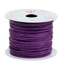 Alambre envuelto en 50m violeta