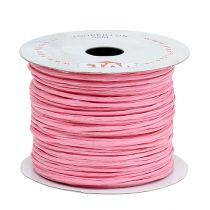 Alambre envuelto en 50m rosa