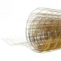 Malla de alambre dorado 35cm 5m