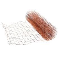 Malla de alambre de cobre 35cm x 5m