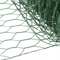 Malla hexagonal Alambre verde Malla de alambre recubierta de PVC 50cm × 10m