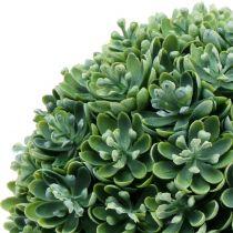 Bola Echeveria artificial verde Ø18cm