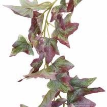 Guirnalda hiedra verde, burdeos 182.5cm