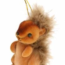 Decoración de otoño Decoración para colgar Squirrel Brown Set de 2