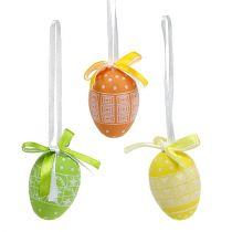 Huevos colgantes de plástico 5cm 27pcs