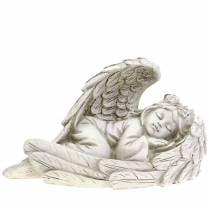 Deco ángel durmiendo 18cm x 8cm x 10cm