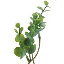 Rama de eucalipto verde artificial 37cm 6pcs