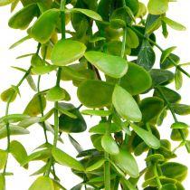 Decoración de boda guirnalda de eucalipto verde artificial 122cm