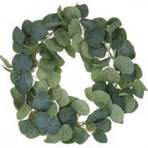 Corona de puerta eucalipto corona de eucalipto artificial Ø38cm