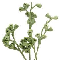 Ramita de eucalipto verde esmerilado 25 piezas
