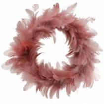 Decoración de Pascua guirnalda de primavera rosa vieja Ø25cm decoración de primavera