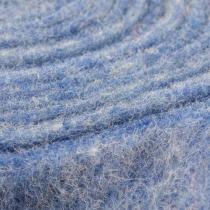 Cinta de fieltro azul 15cm 5m