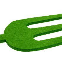 Herramienta de jardín de fieltro verde 4 piezas