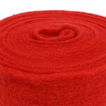 Cinta de fieltro 15cm x 5m rojo