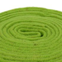 Cinta de fieltro 7,5cm x 5m verde