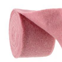 Cinta de fieltro, cinta para macetas rosa viejo 15cm 5m