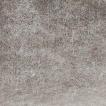 Cinta de fieltro, cinta para macetas gris-natural 15cm 5m