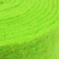 Cinta de fieltro verde 7,5cm 5m