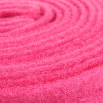 Cinta Fieltro Rosa 7,5cm 5m