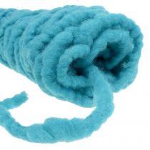 Cordón de fieltro Velcro Mirabell 25m turquesa