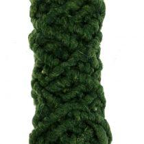 Cordón de fieltro Flausch Mirabell Verde Oscuro 25m
