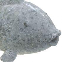 Figura de jardín pez 65cm x 20cm x 24cm