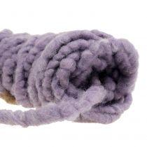 Velcro Mirabell Cordon Fieltro Violeta 25m