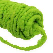 Cordón Fieltro Flausch Mirabell 25m Verde