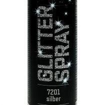 Glitter spray plata 400ml